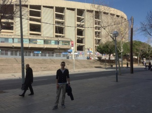 This grey unsightly building is the stadium of one of the greatest teams in the world.