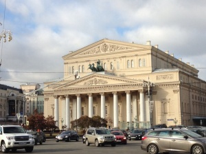 World-famous Bolshoy theatre.