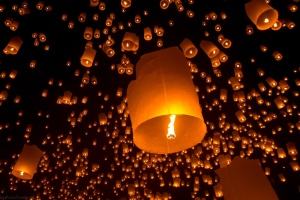 Yee Peng big lantern release